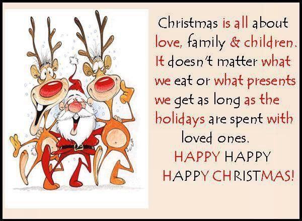 Funny Family Christmas Quotes  What Christmas Is About s and for