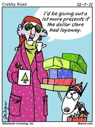 Funny Family Christmas Quotes  Best 1952 Maxine Cartoons images on Pinterest