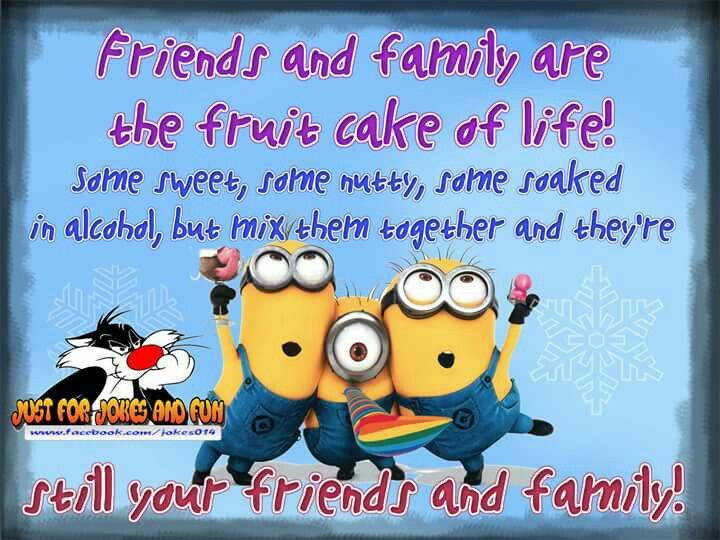 Funny Family Christmas Quotes  17 Best images about Holiday Minions on Pinterest