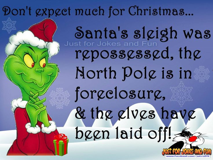 Funny Family Christmas Quotes  25 best The grinch quotes on Pinterest