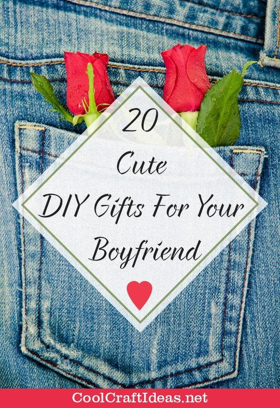Funny Gift Ideas For Boyfriend  20 Cute DIY Gifts For Your Boyfriend