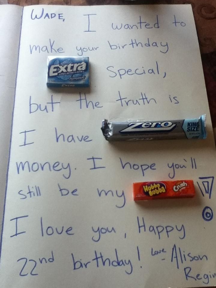 Funny Gift Ideas For Boyfriend  Pinterest • The world's catalog of ideas