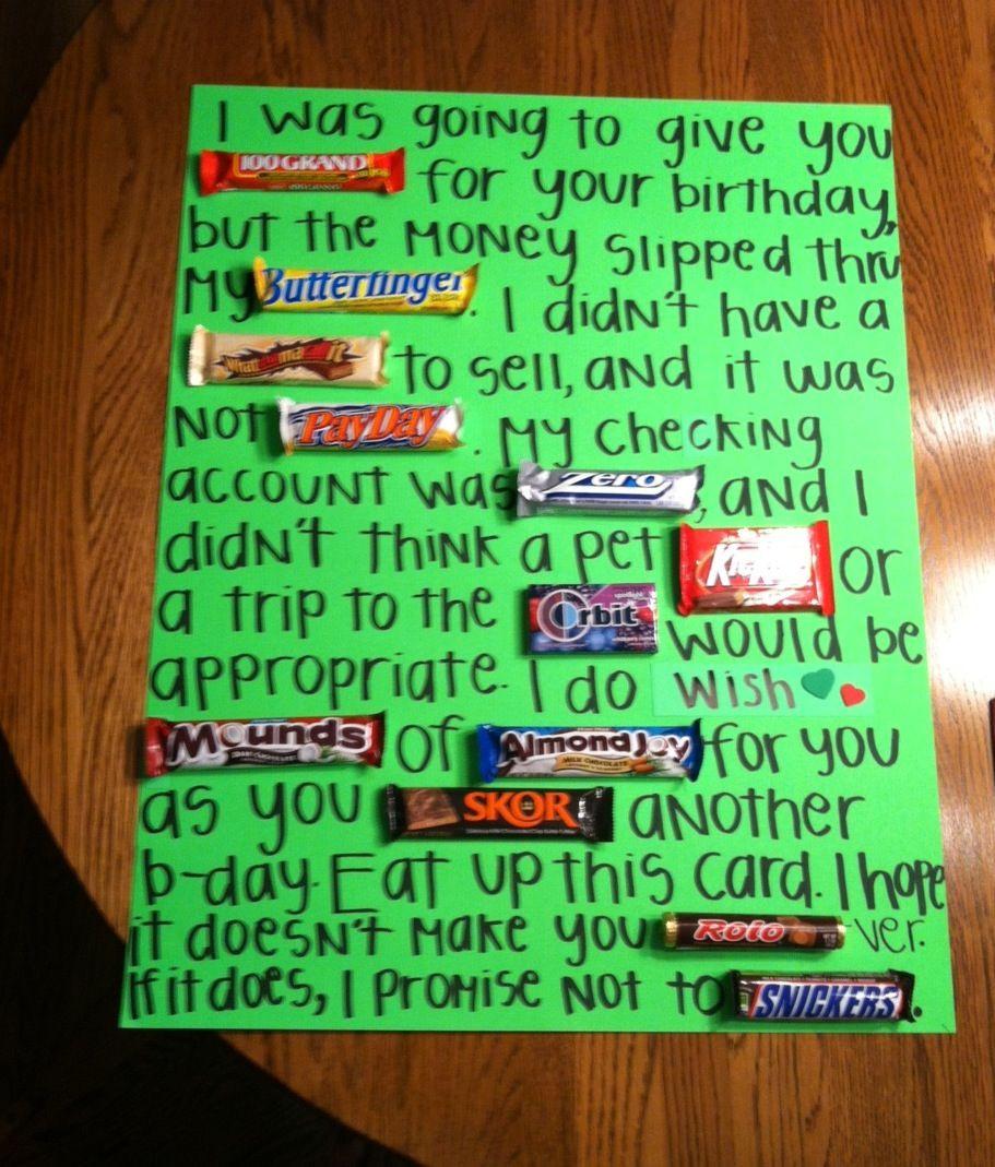 Funny Gift Ideas For Boyfriend  Best 25 Birthday presents ideas on Pinterest