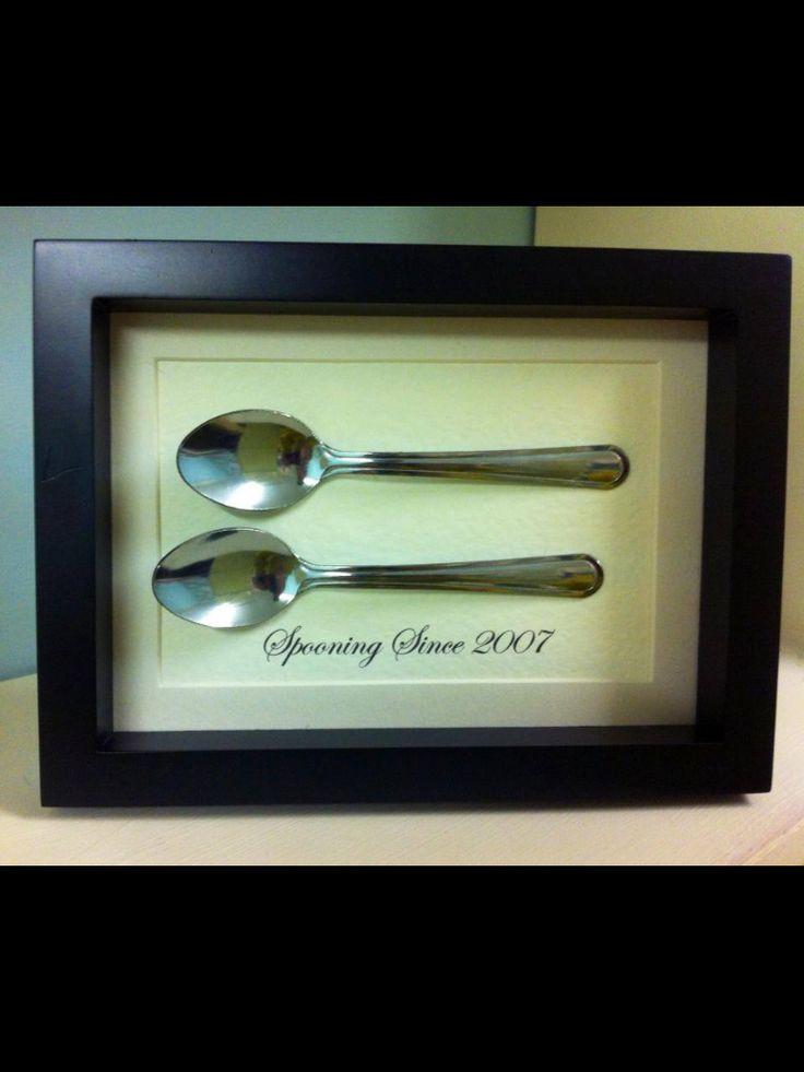Funny Gift Ideas For Boyfriend  cute anniversary t for boyfriend or husband spooning