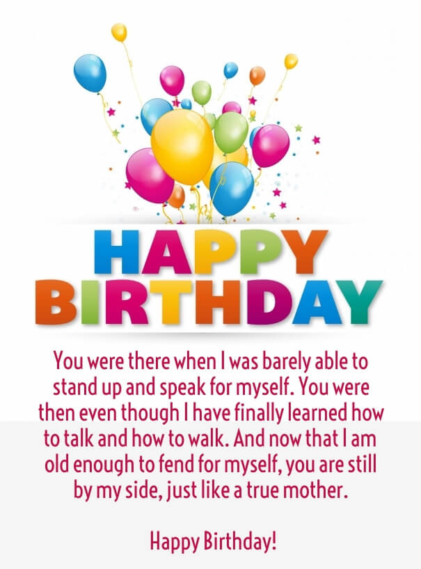 Funny Happy Birthday Quotes For Her  Cute Happy Birthday Mom Quotes with