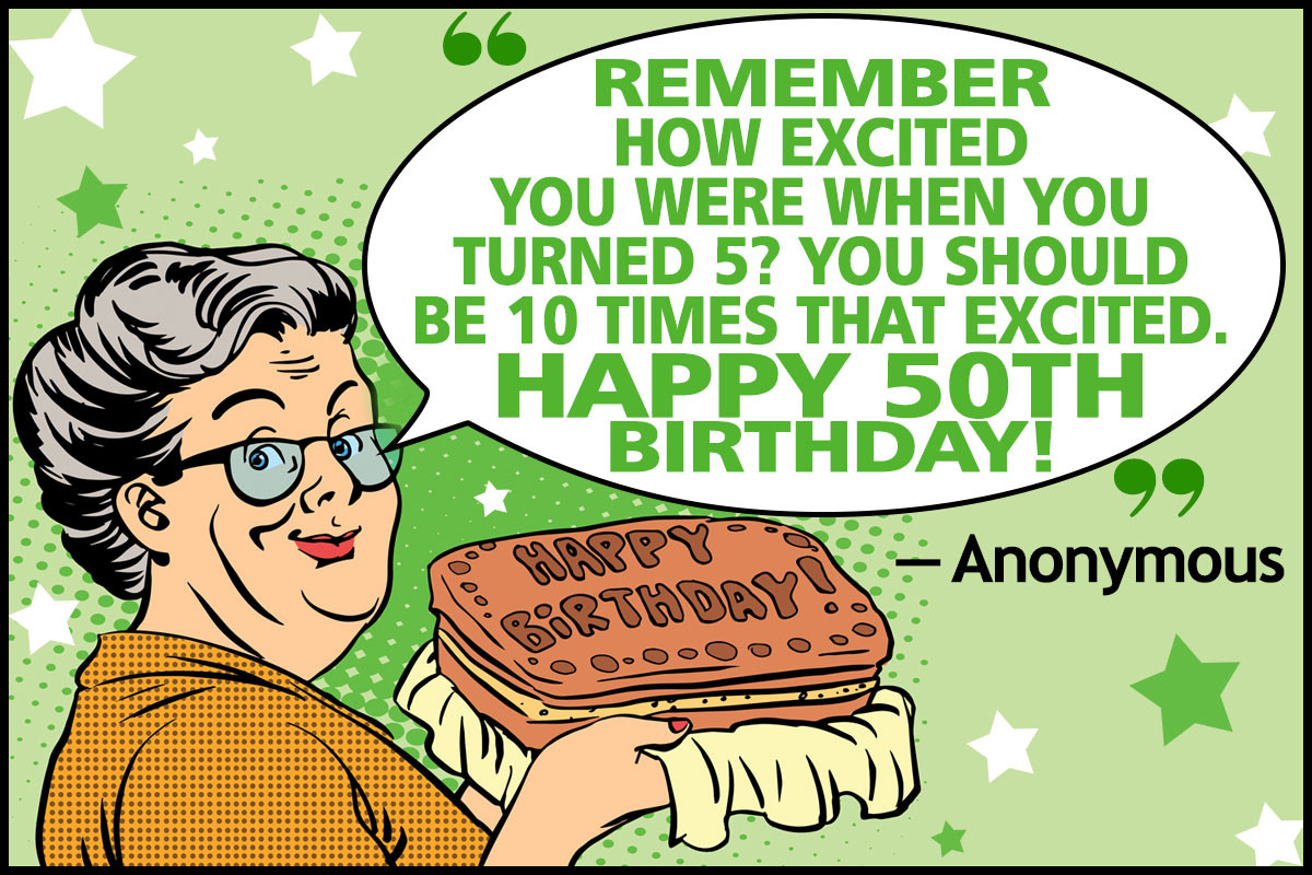 Funny Sayings For 50Th Birthday  Funny 50th Birthday Quotes and Sayings for Your Golden Year
