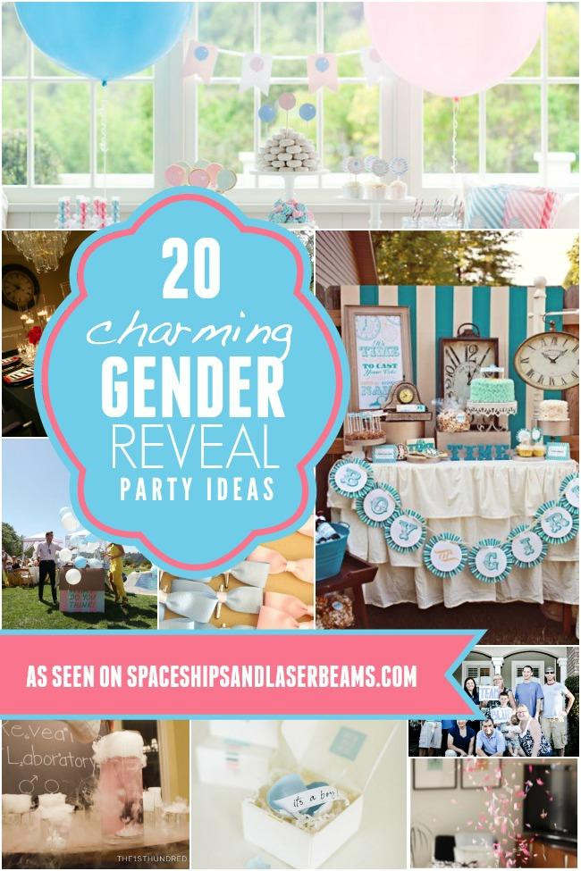 Gender Reveal Ideas For Party  A Book Themed Gender Reveal Party Spaceships and Laser Beams