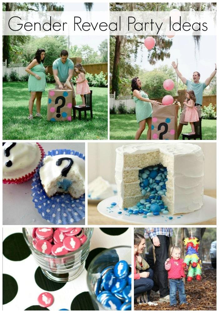Gender Reveal Ideas For Party  Blue or Pink What Do You Think Cute Gender Reveal Ideas