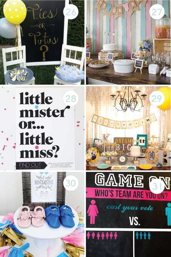 Gender Reveal Ideas For Party  100 Gender Reveal Ideas From The Dating Divas