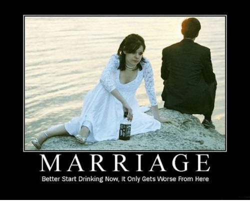 Getting Married Quotes Funny  Funny Marriage Memes of 2016 on SIZZLE