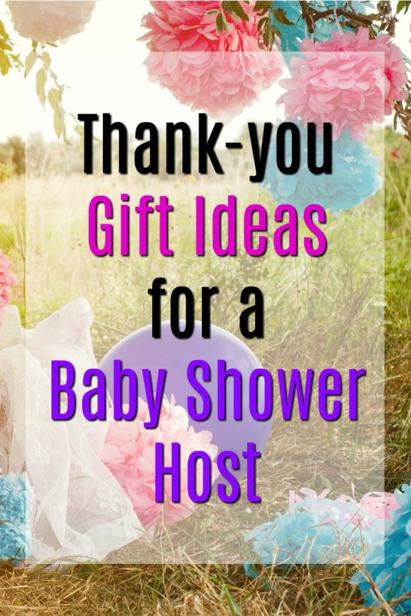Gift Ideas For Baby Shower Host  20 Thank You Gift Ideas for Baby Shower Hosts Unique Gifter