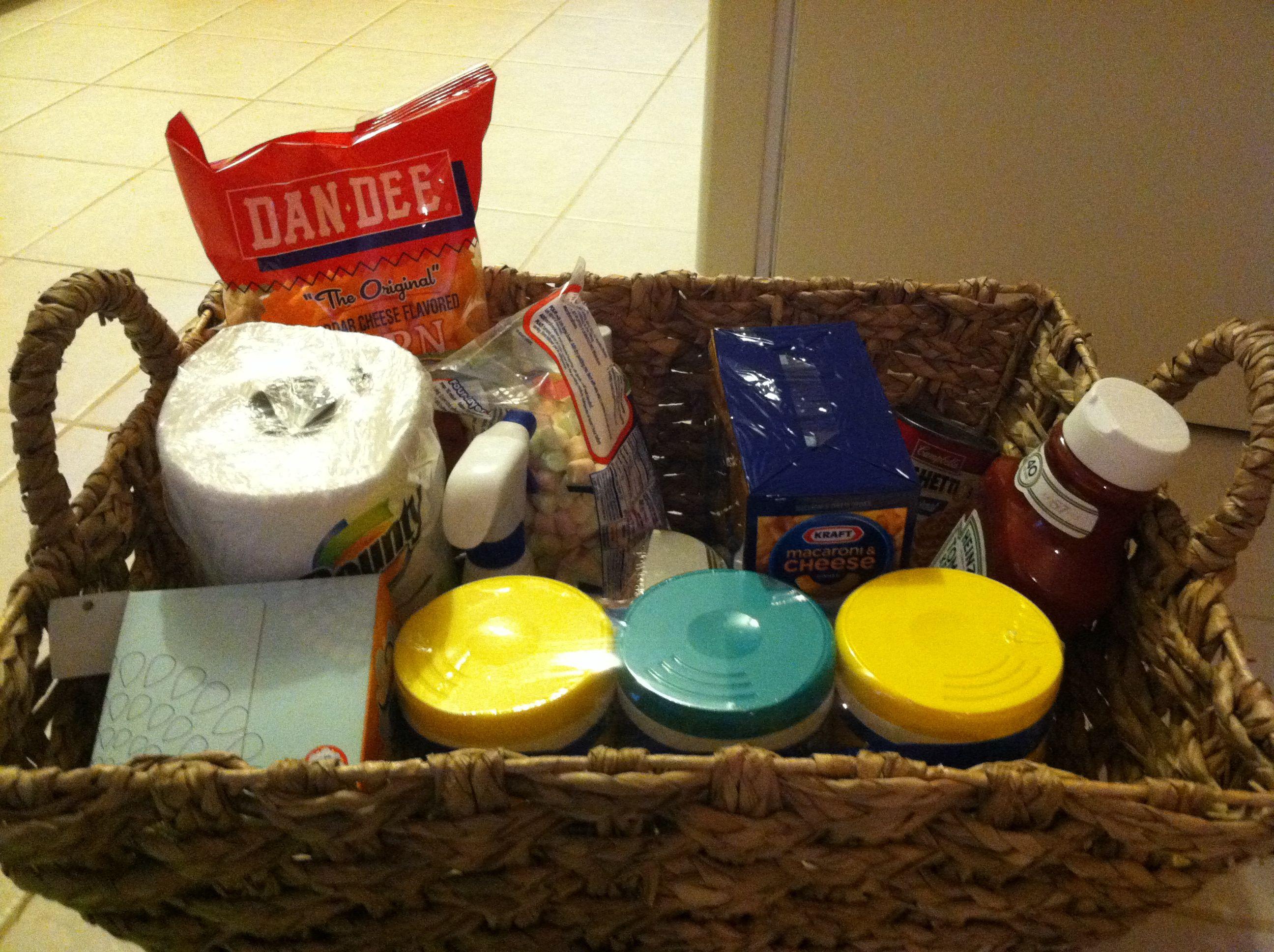 Gift Ideas For Babysitter Daycare Provider  Gift for a daycare provider Basket filled with all the
