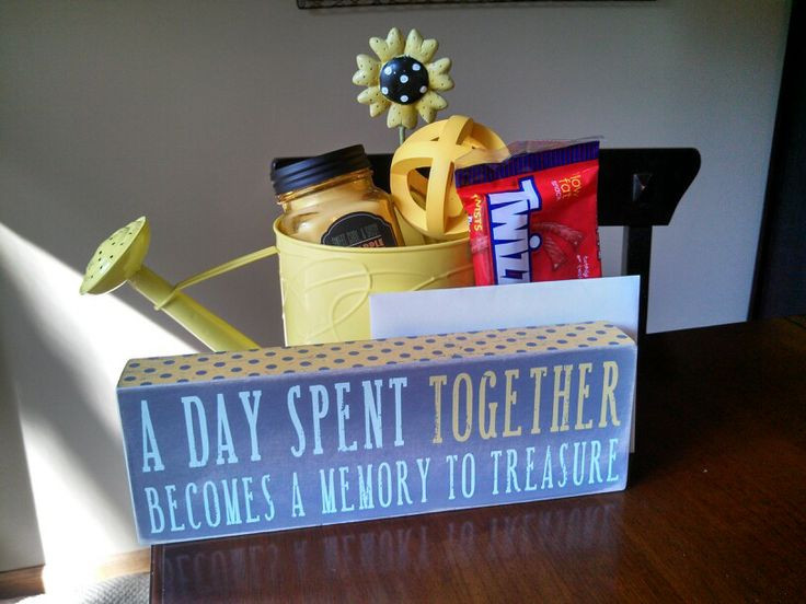 """Gift Ideas For Babysitter Daycare Provider  Nanny or daycare provider thank you t """"A day spent"""