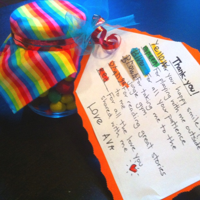 Gift Ideas For Babysitter Daycare Provider  18 best Daycare Gift Ideas images on Pinterest