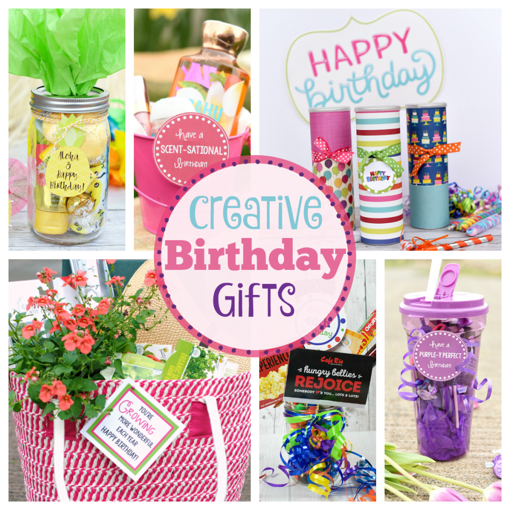 Gift Ideas For Birthday  Creative Birthday Gifts for Friends – Fun Squared