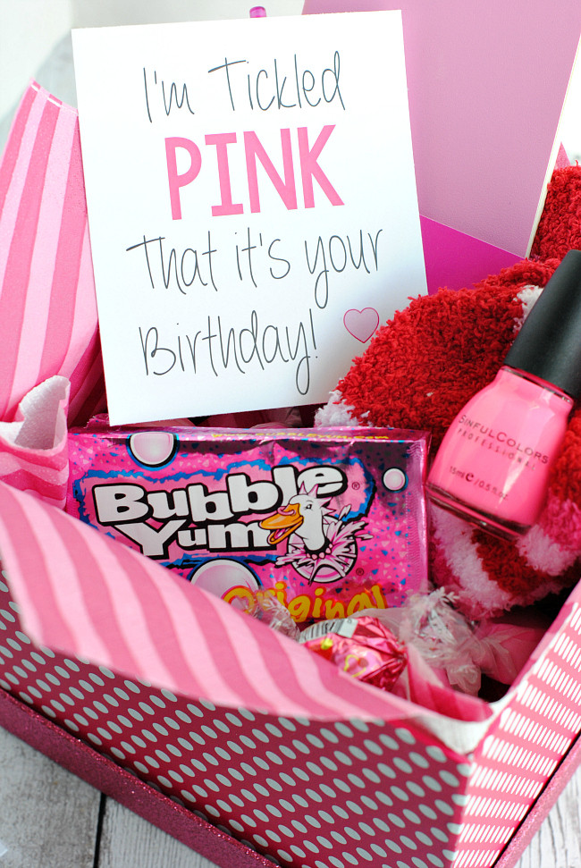 Gift Ideas For Birthday  Tickled Pink Gift Idea – Fun Squared