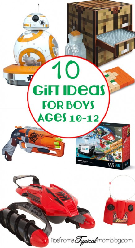 Gift Ideas For Boys Age 10  10 Gifts for Boys ages 10 12 Tips from a Typical Mom