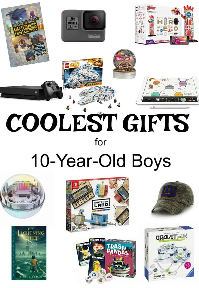 Gift Ideas For Boys Age 10  Gifts for 10 Year Old Boys