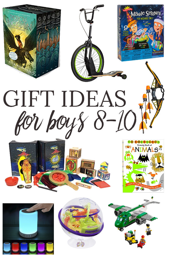 Gift Ideas For Boys Age 10  Gift Ideas for Boys Ages 8 10