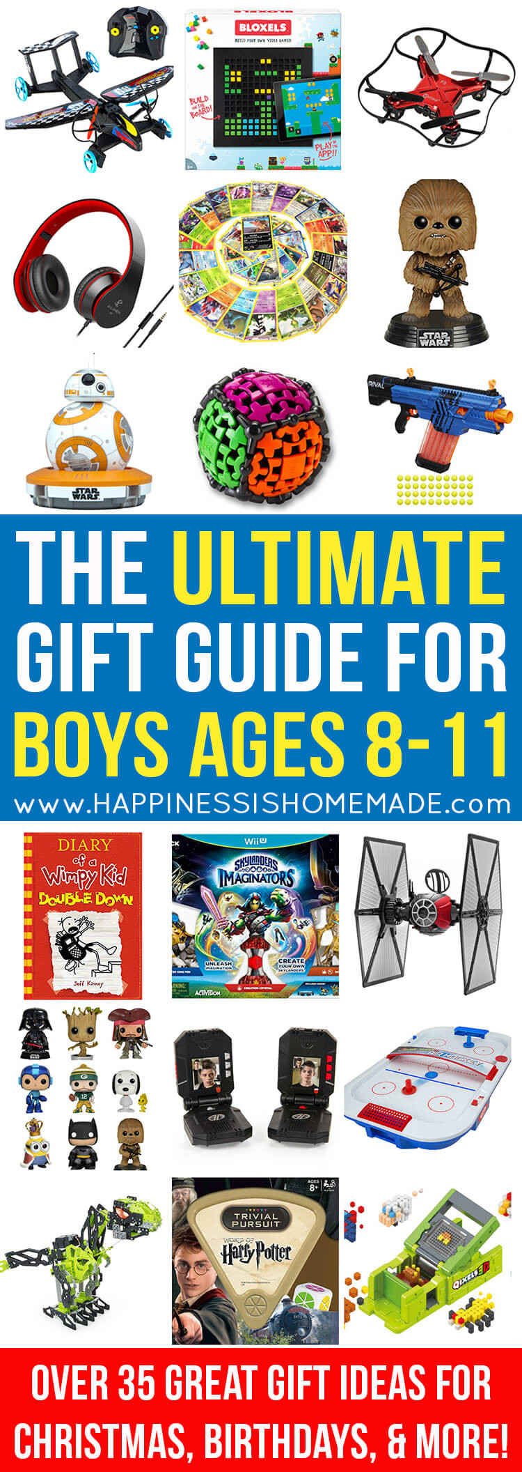 Gift Ideas For Boys Age 10  The Best Gift Ideas for Boys Ages 8 11 Happiness is Homemade