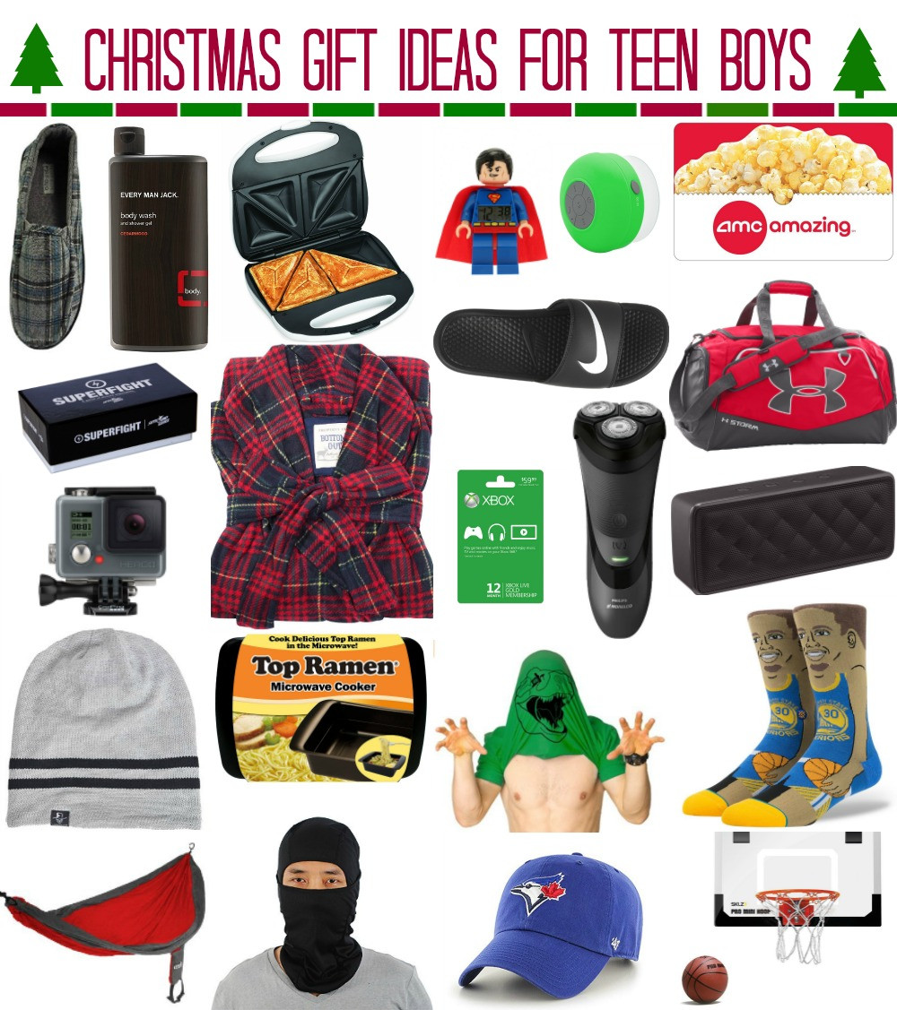 Gift Ideas For Boys  Christmas Gift Ideas for Teen Boys whatever