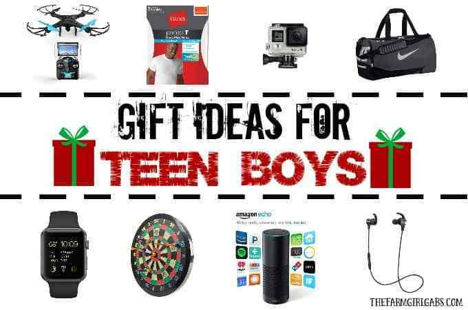 Gift Ideas For Boys  Gift Ideas For Teen Boys The Farm Girl Gabs