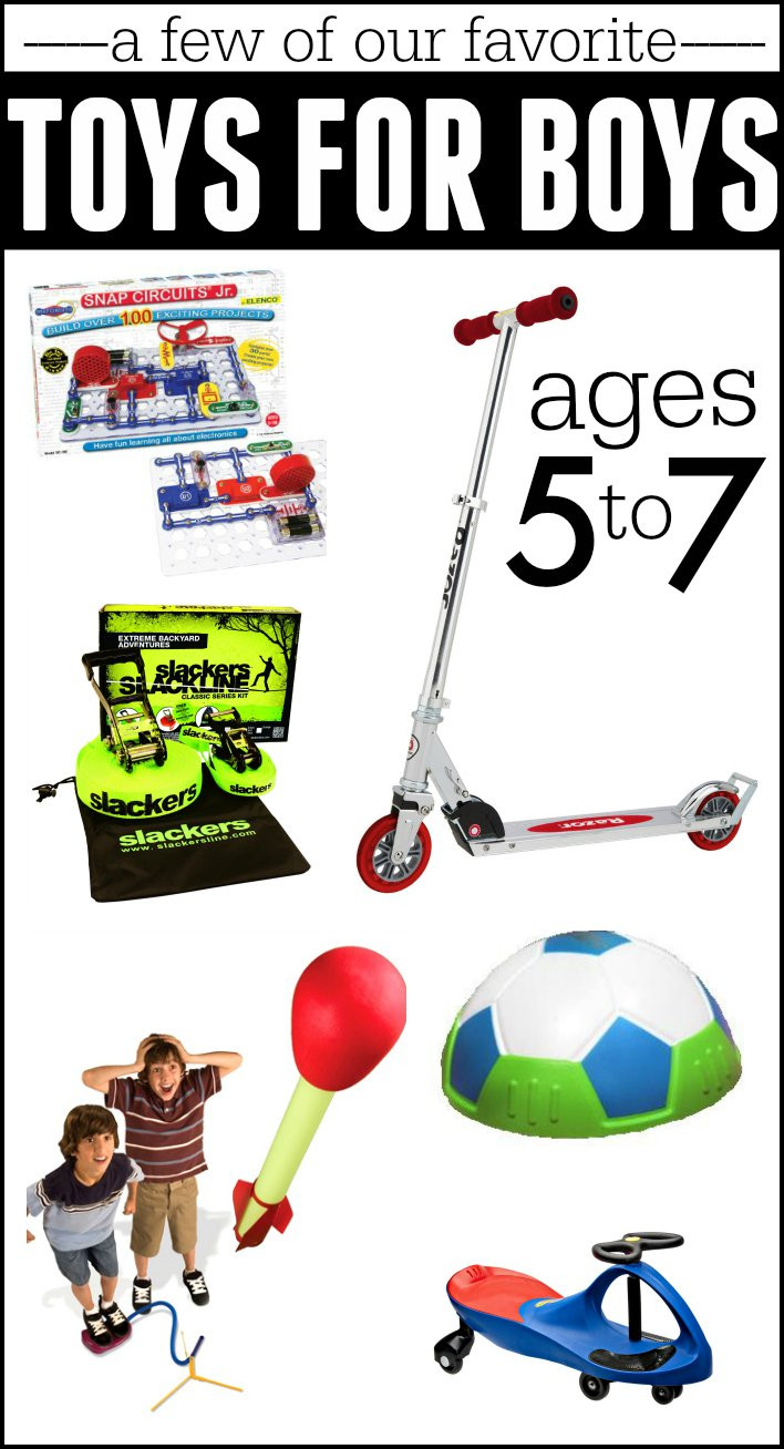 Gift Ideas For Boys  Best Gifts for Boys Ages 5 7 I Can Teach My Child