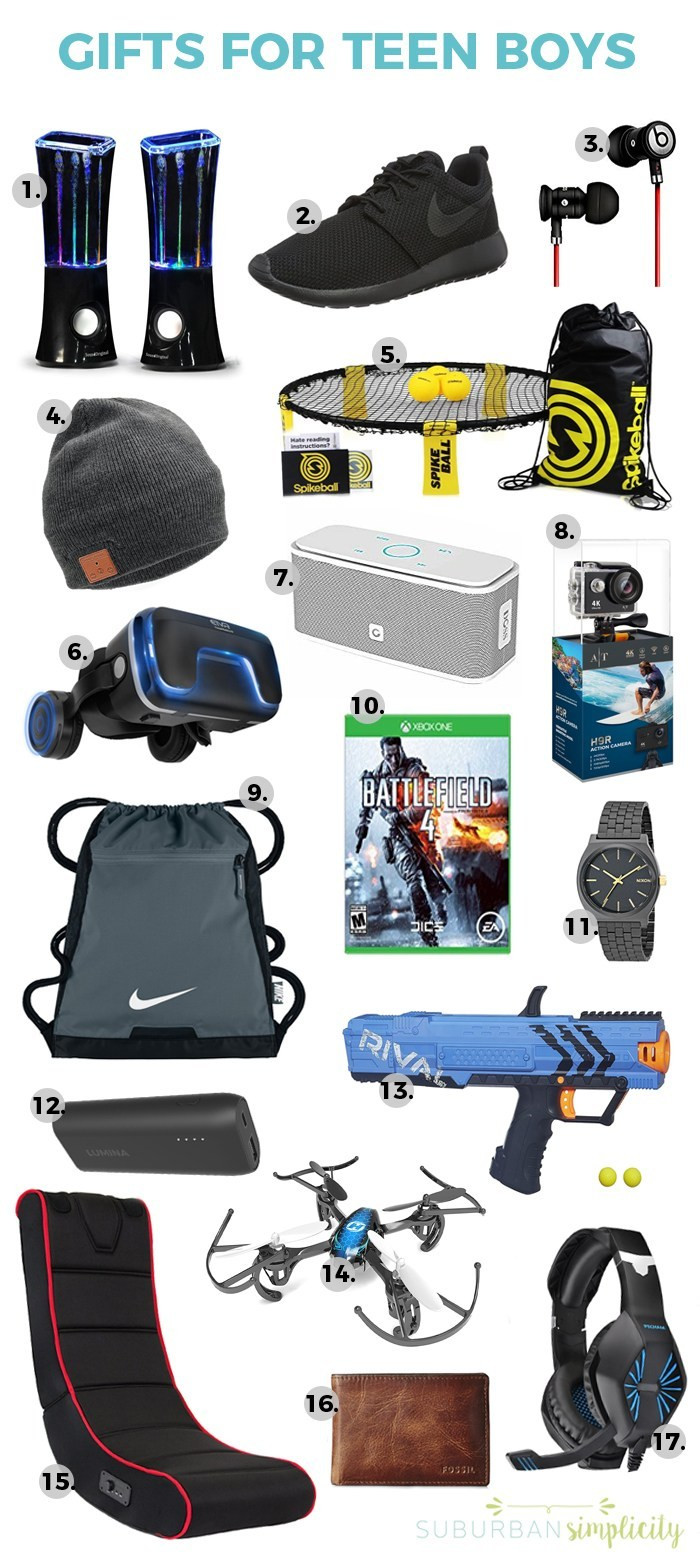 Gift Ideas For Boys  17 Awesome Gift Ideas for Teen Boys