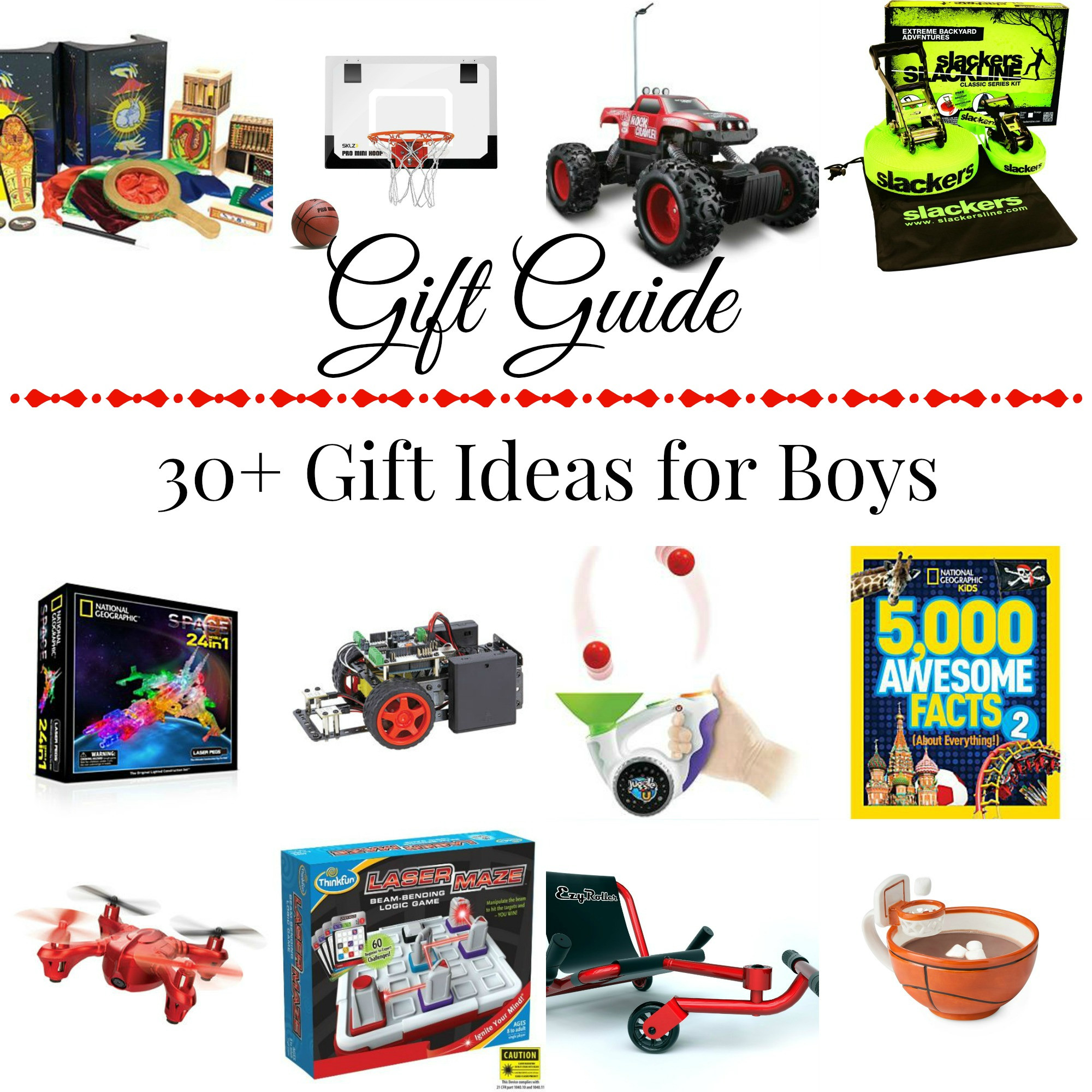 Gift Ideas For Boys  30 Gift Ideas for Boys
