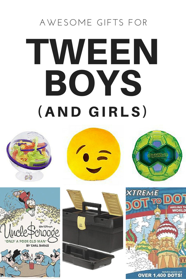 Gift Ideas For Boys  16 Gift Ideas for Tween Boys and Tween Girls Too