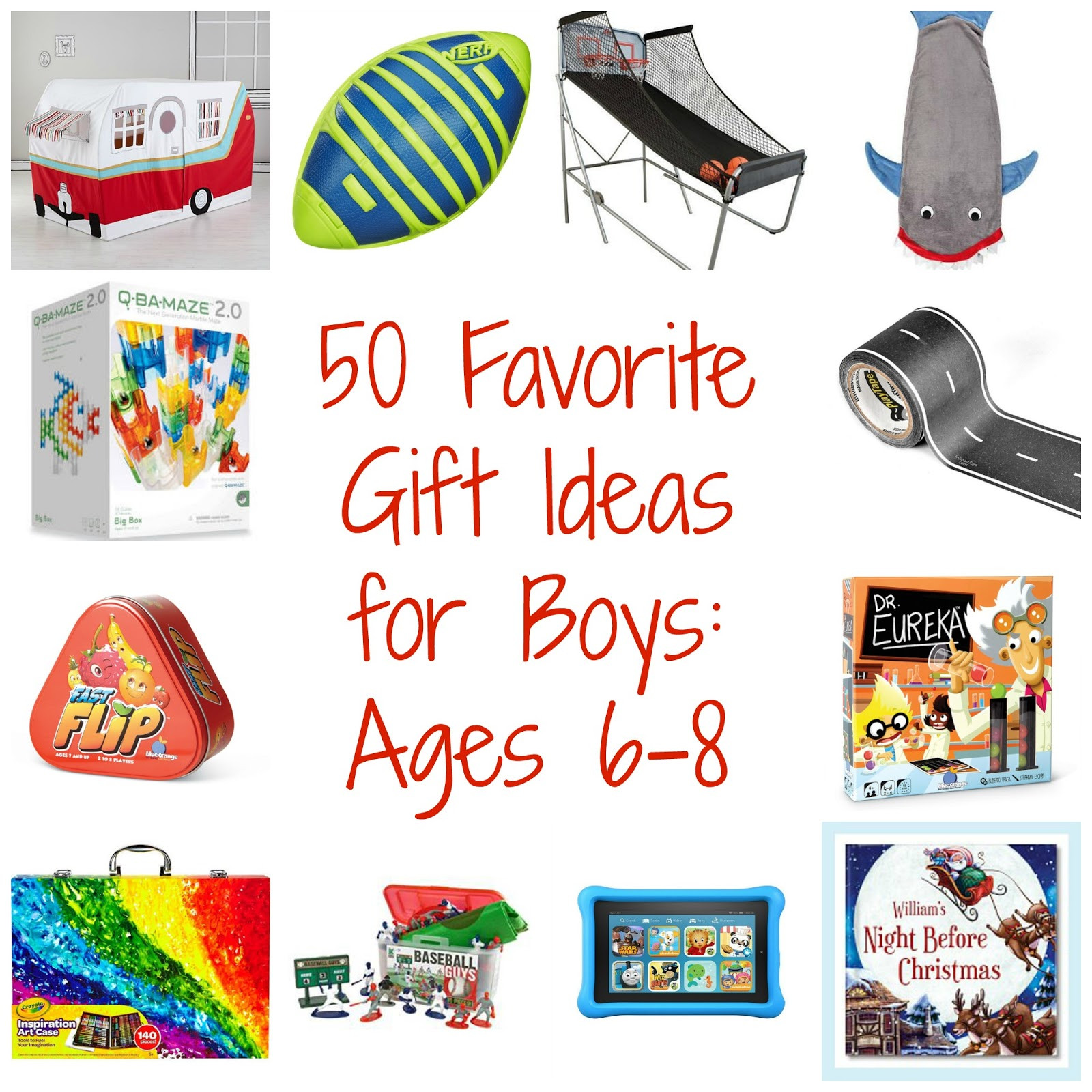 Gift Ideas For Boys  50 Favorite Gift Ideas for Boys Ages 6 8 The Chirping Moms