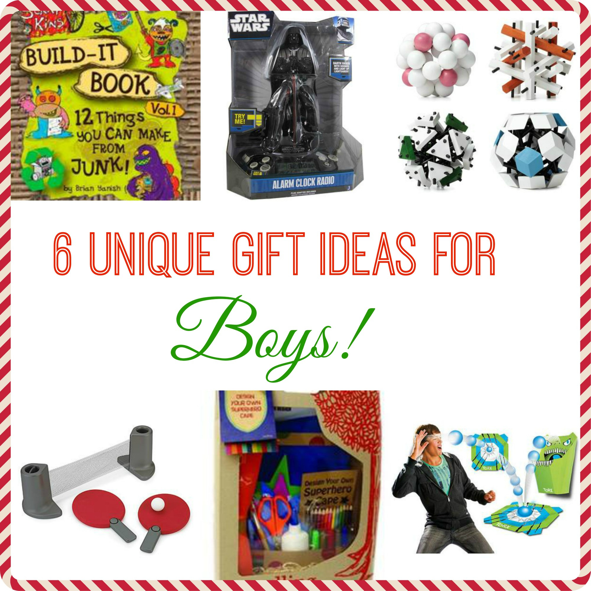 Gift Ideas For Boys  6 Unique Gift Ideas for Boys