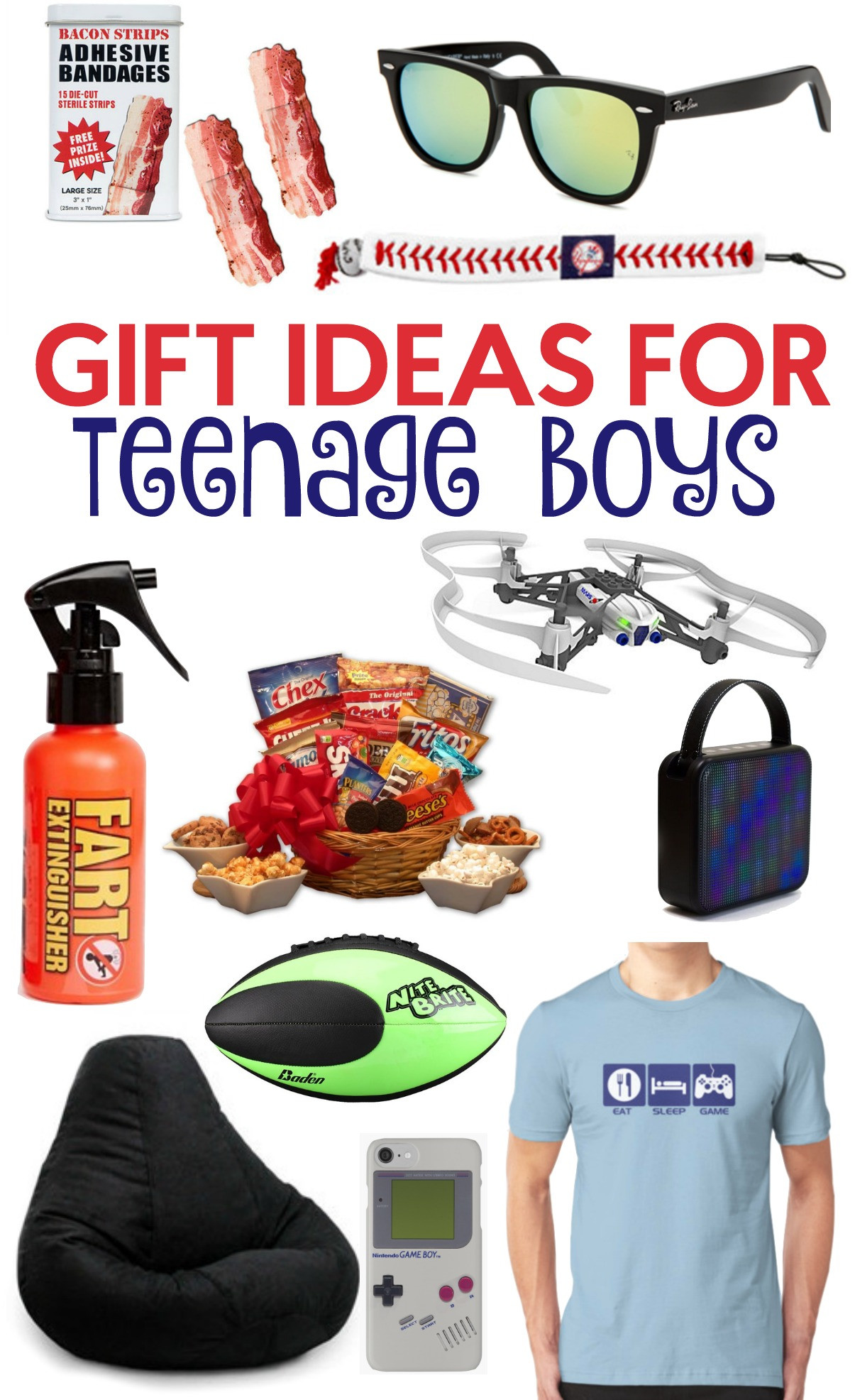Gift Ideas For Boys  The Perfect Gift Ideas For Teen Boys A Little Craft In