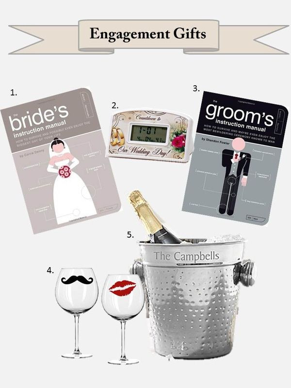 Gift Ideas For Engaged Couples  A t idea for newly engaged couples
