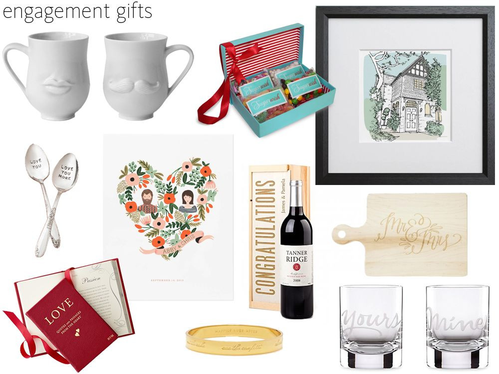 Gift Ideas For Engaged Couples  57 Engagement Gift Ideas