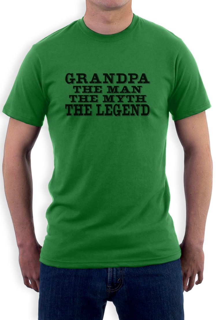 Gift Ideas For Father'S Day  Grandpa The Legend T Shirt Father s Day Birthday Gift Idea