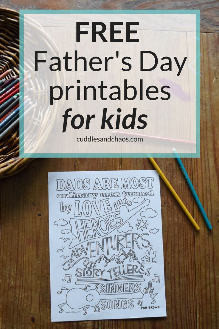 Gift Ideas For Father'S Day  Father s Day DIY Gift Ideas for Kids with FREE Printables