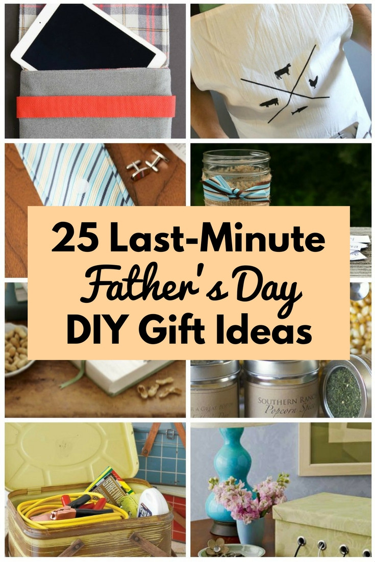 Gift Ideas For Father'S Day  25 Last Minute Father s Day DIY Gift Ideas The Bud Diet