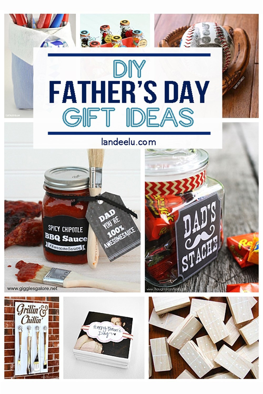 Gift Ideas For Father'S Day  21 DIY Father s Day Gifts to Celebrate Dad landeelu