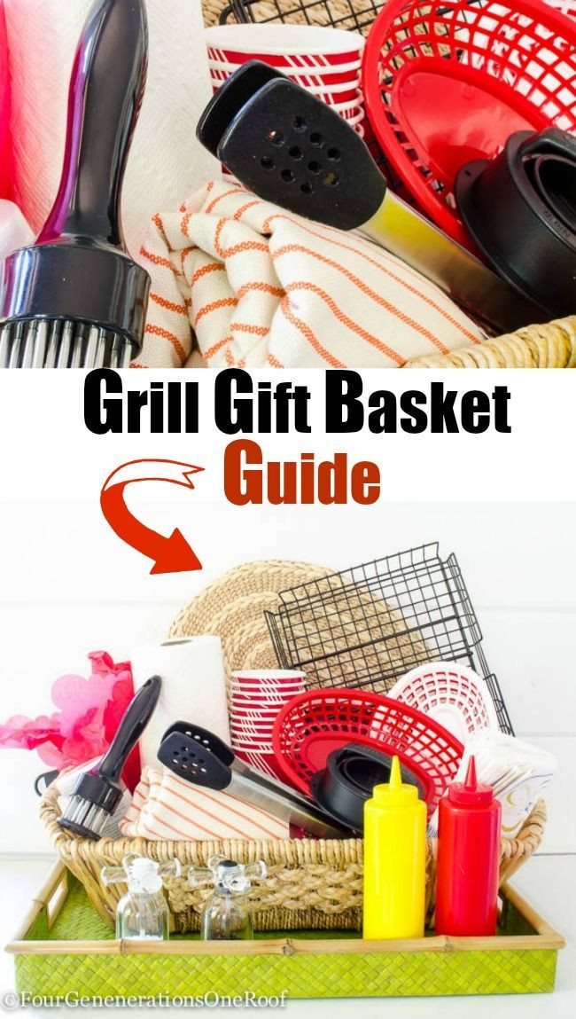 Gift Ideas For Father'S Day  Fun Father s Day Grill Gift Basket