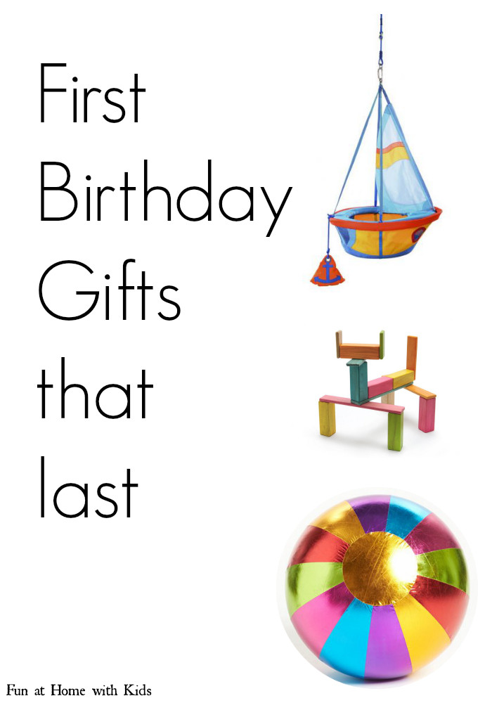 Gift Ideas For First Birthday  First Birthday Gift Ideas at last