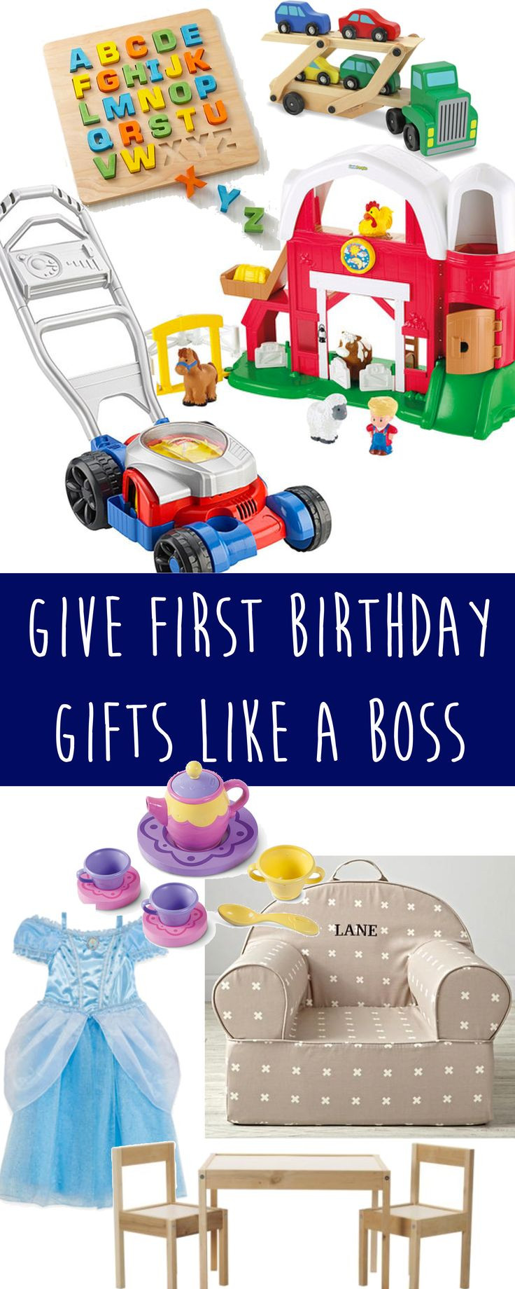 Gift Ideas For First Birthday  25 Best Ideas about First Birthday Gifts on Pinterest