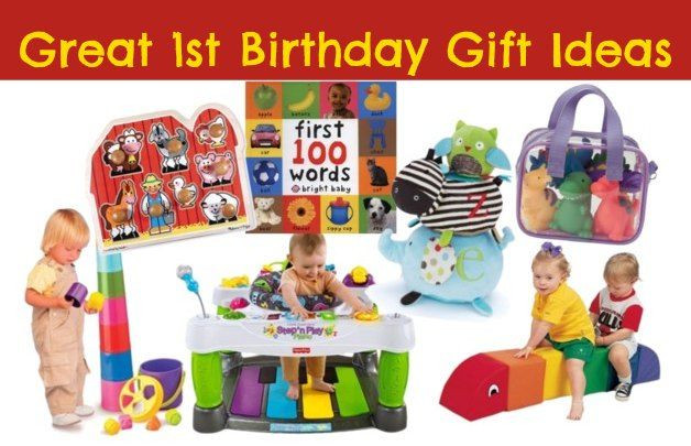 Gift Ideas For First Birthday  10 great 1st birthday ts for girls and boys Pin this