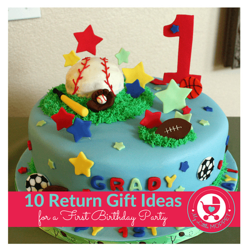 Gift Ideas For First Birthday  10 Novel Return Gift Ideas for a First Birthday Party