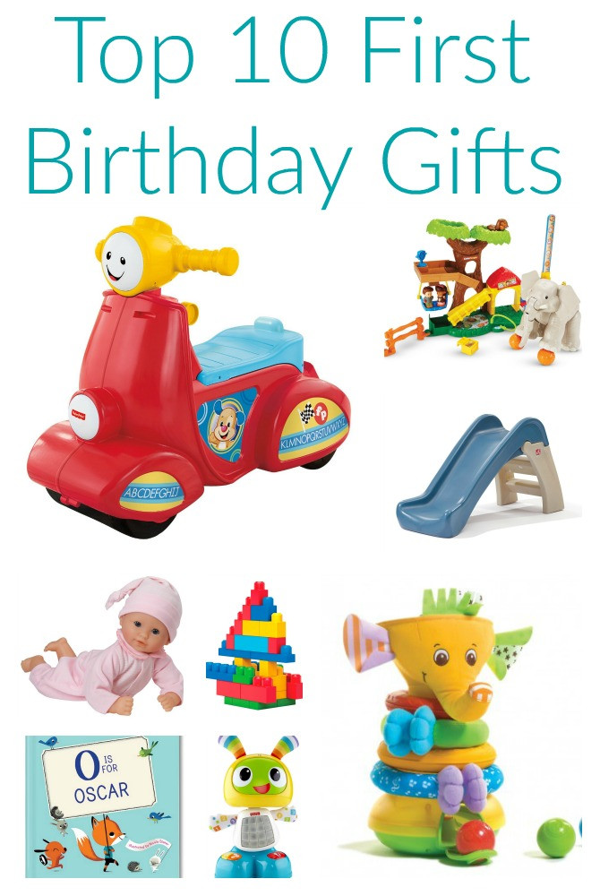 Gift Ideas For First Birthday  Friday Favorites Top 10 First Birthday Gifts The