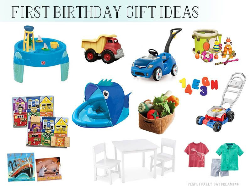 Gift Ideas For First Birthday  Gift Ideas for e Year Old Boys Perpetually Daydreaming