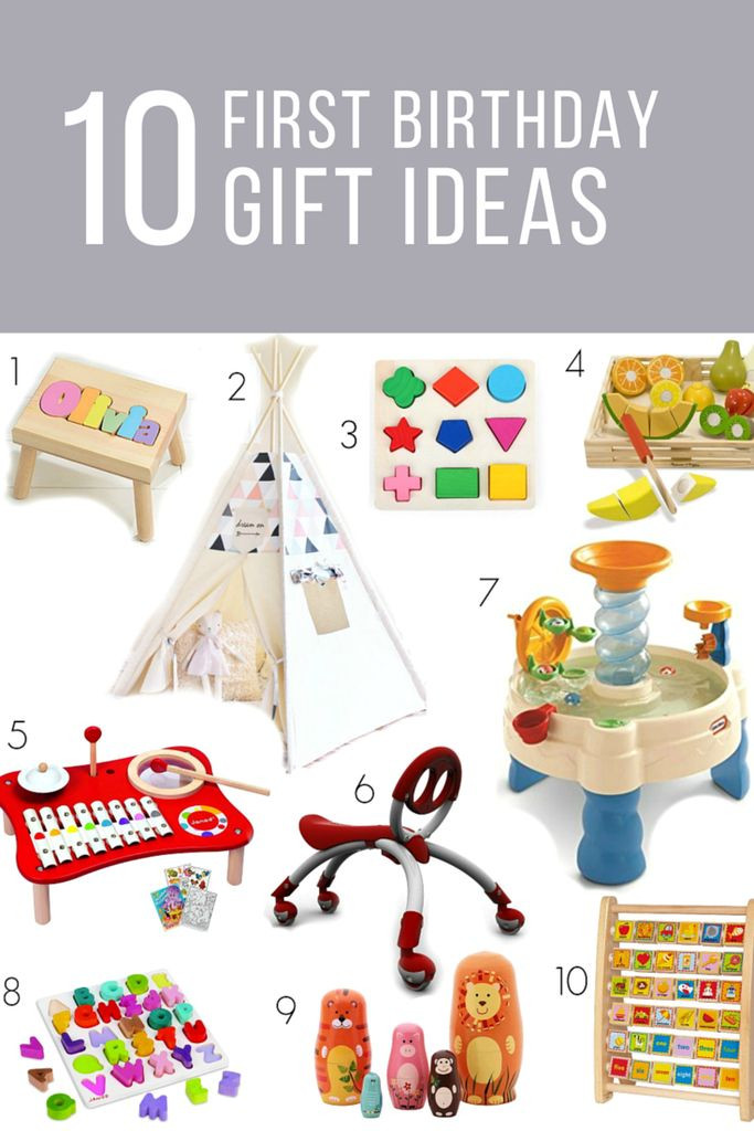 Gift Ideas For First Birthday  first birthday t ideas for girls or boys