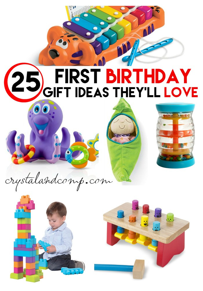 Gift Ideas For First Birthday  First Birthday Party Gift Ideas