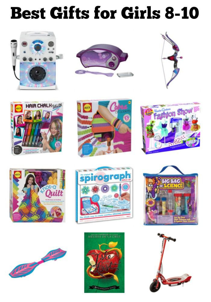 Gift Ideas For Girls 10 Years Old  Best Gifts for 8 10 Year Old Girls
