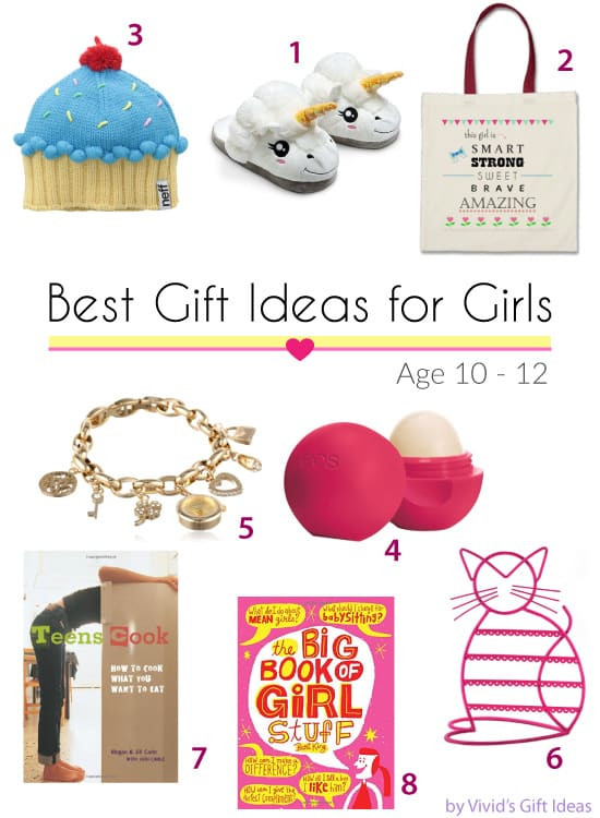 Gift Ideas For Girls 10 Years Old  Gift Ideas for 10 12 Years Old Tween Girls Vivid s